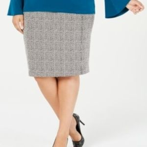 Michael Michael Kors Pencil Skirt Faux Front Zip
